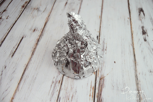 DIY Giant Hershey Kiss