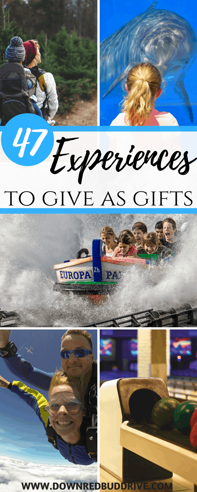Experiences to Give as Gifts | Giving Experiences | Gift Ideas | Birthday Gift Ideas | Guy Gift Ideas | Family Gift Ideas | Teen Gift Ideas | Christmas Gift Ideas | Valentines Day Gift Ideas | Anniversary Gift Ideas | #giveexperiences #givememories #giftideas