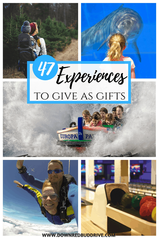 Experiences to Give as Gifts