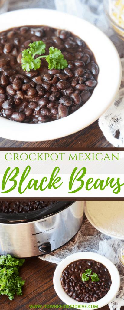 Crockpot Mexican Black Beans