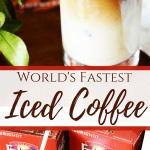 World's Fastest Iced Coffee Recipe