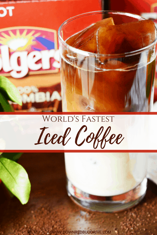 World's Fastest Iced Coffee Recipe
