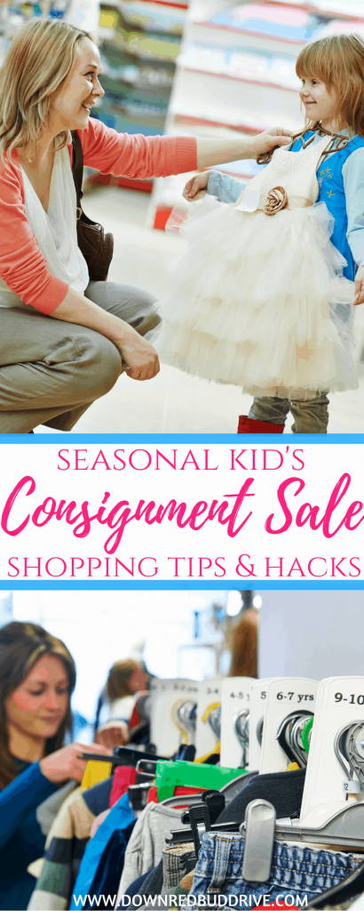 Kid's Consignment Sale Shopping Tips