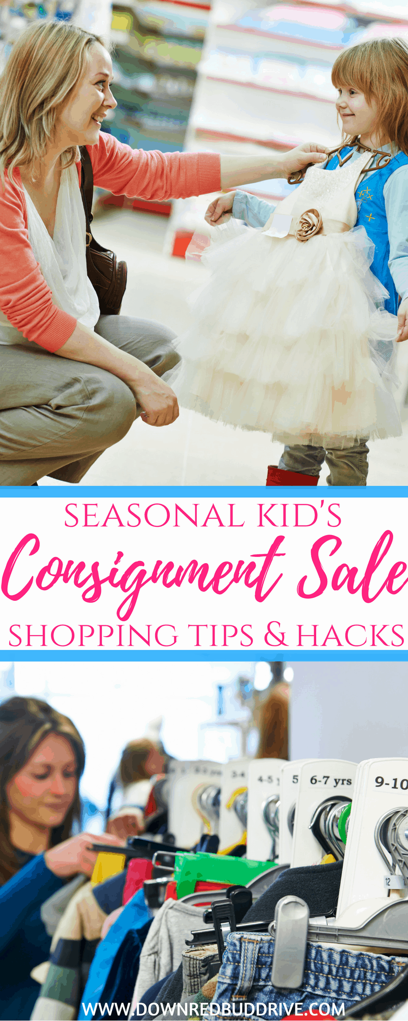 Kid's Consignment Sale Shopping Tips | Consignment Sale | Kids Consignment Sales | Seasonal Kids Sale | Consignment Mommies | Save on Kids Clothes | Kids Clothes | Back to School Clothes | Down Redbud Drive | #consignmentsales #kidsclothes #shoppingforkids #backtoschool