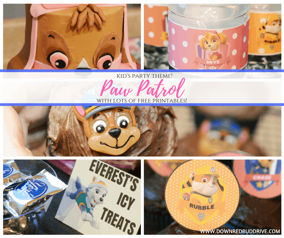 Paw Patrol Party Theme Lots Of Free Themed Printables