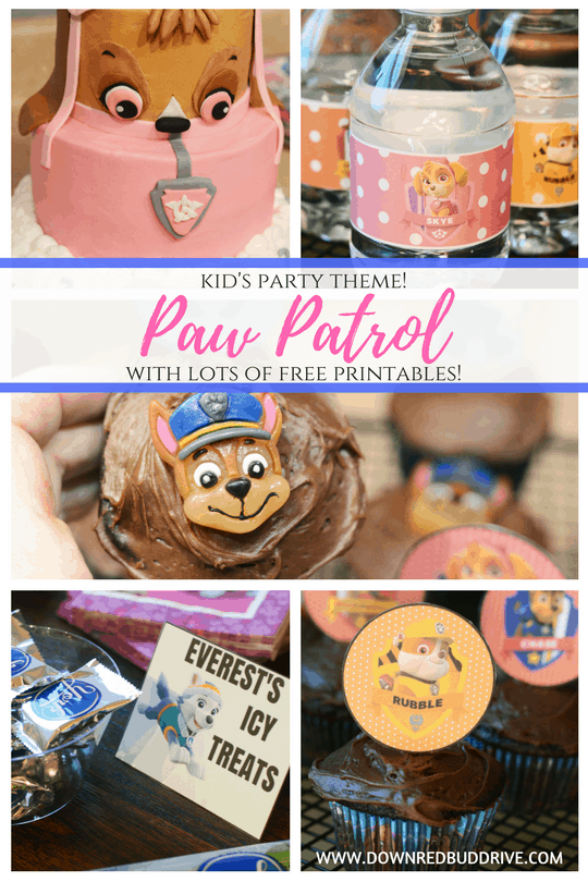 photograph about Paw Patrol Printable Decorations identified as Paw Patrol Get together Topic A great deal of Free of charge Themed Printables!