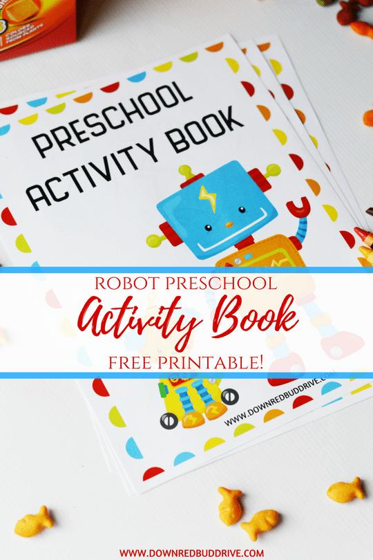 RobotPreschool Activity Book