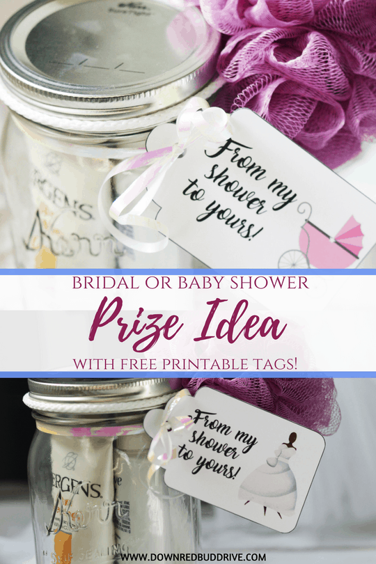 Diy Baby Or Bridal Shower Prize Idea Free Printables