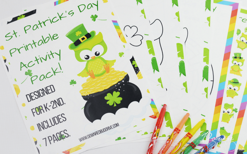 St. Patrick's Day Printable Activity Pack