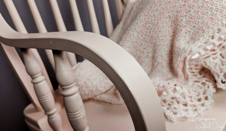 Nursery Rocker   Furniture Makeover