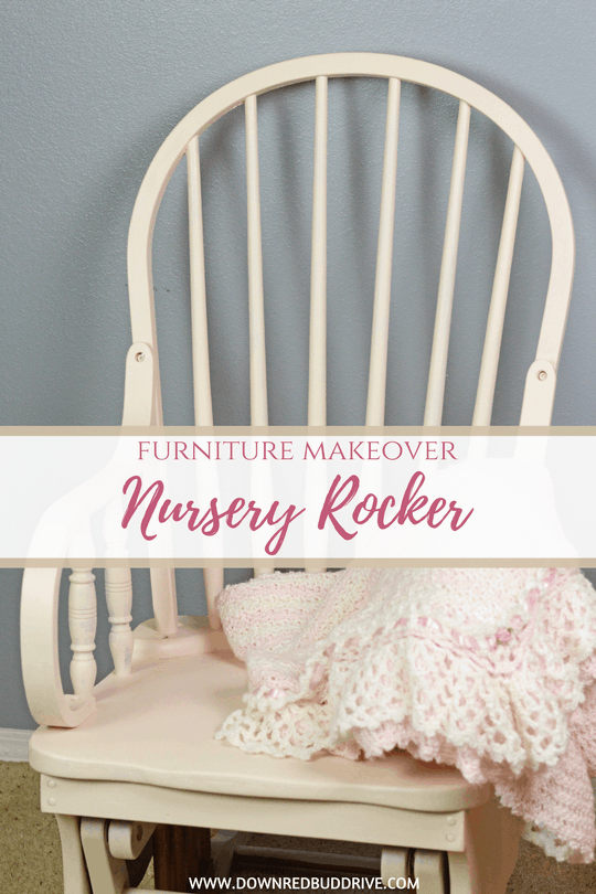 Nursery Rocker Furniture Makeover With Fusion Mineral Paint
