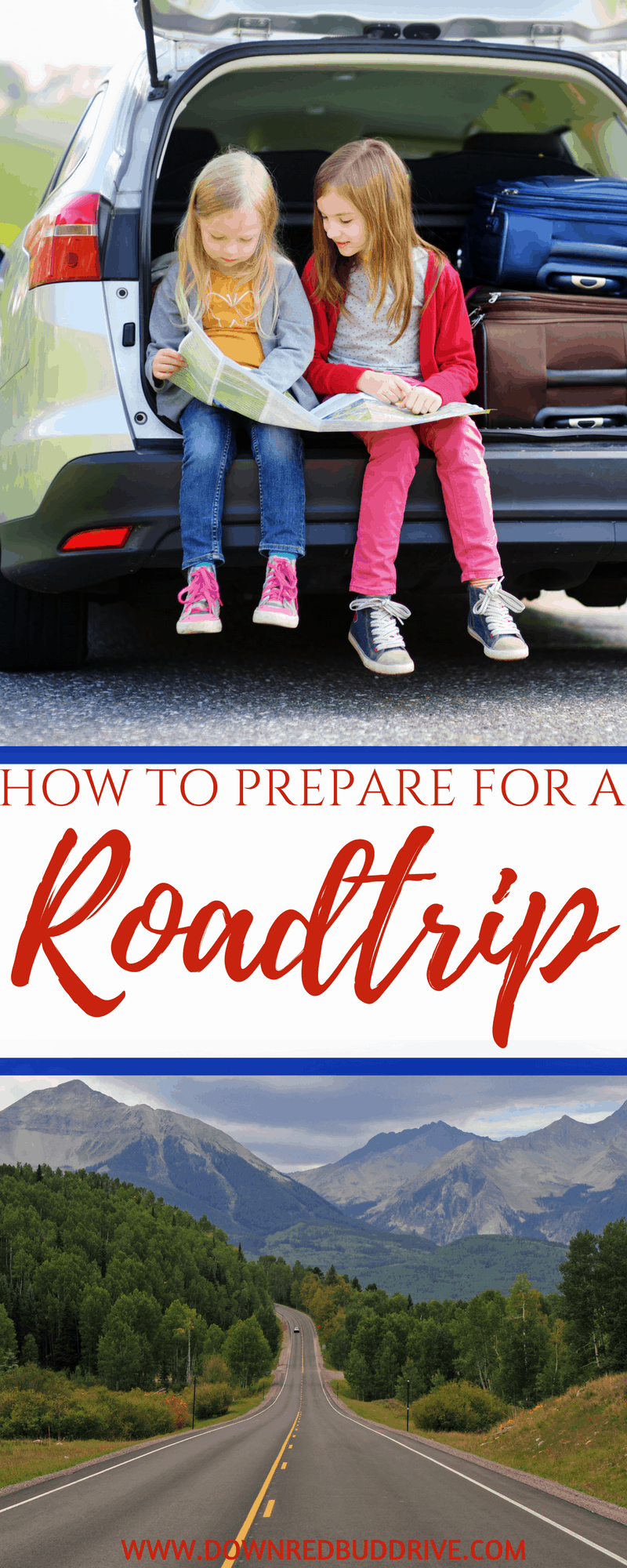 What You Should Do To Prepare for a Roadtrip | Roadtrip | Roadtrip Planning | Emergency Kit | Travel Checklist | Travel Ready | Travel Tips | Roadtrip Tips | Down Redbud Drive #ad #traveltips #roadtrip