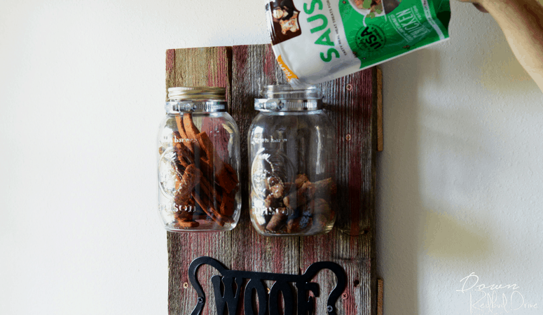 Dog Treat Holder DIY