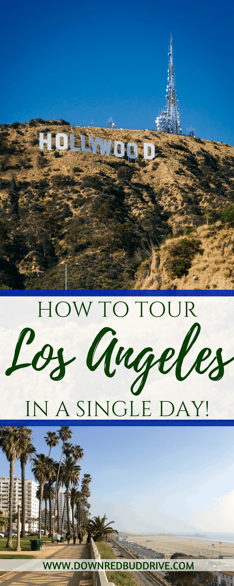 Tour Los Angeles | Los Angeles Travel | LA in a Day | Things to do in Los Angeles | Santa Monica | Hollywood Travel | Things to do in Hollywood | Hollywood Sign | Best Hollywood Tips | Hollywood Tourism | Down Redbud Drive #hollywood #LosAngeles #californiatravel #familytravel
