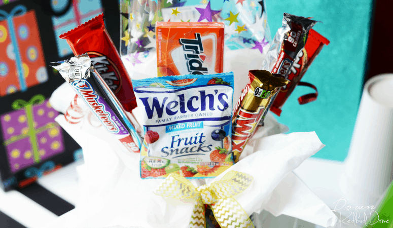 How to Make a Candy Bouquet