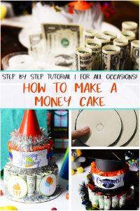 DIY Money Cake