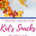 Kid's Snacks in the Car