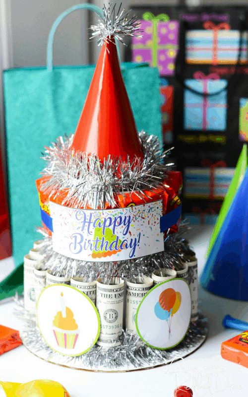 DIY Money Cake
