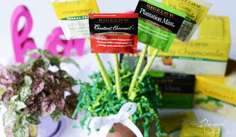 Tea Bouquet Gift Idea