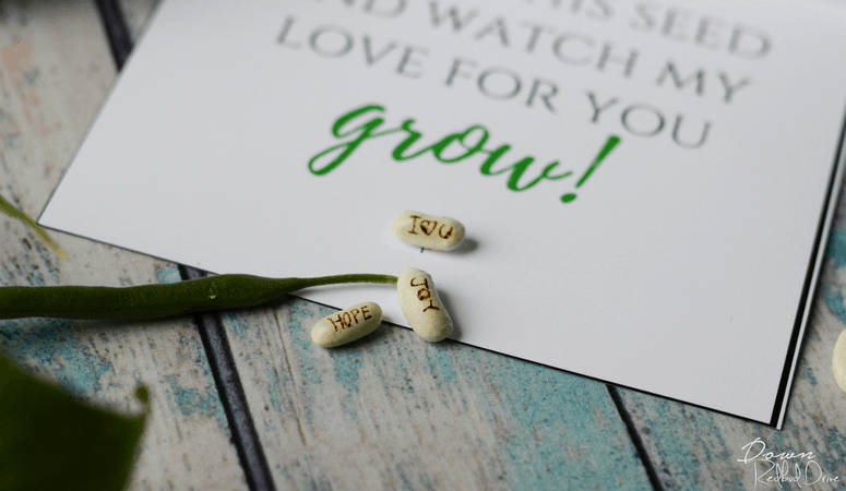 Personalized Seeds | Easy DIY with Free Printables!
