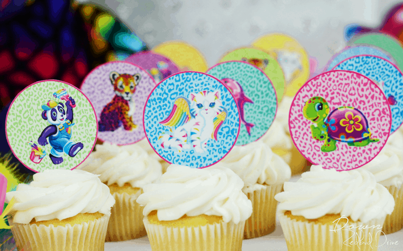 Lisa Frank Party Theme