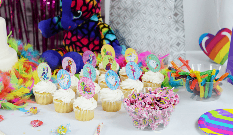 Lisa Frank Party Theme | Lots of Ideas and Free Printables!