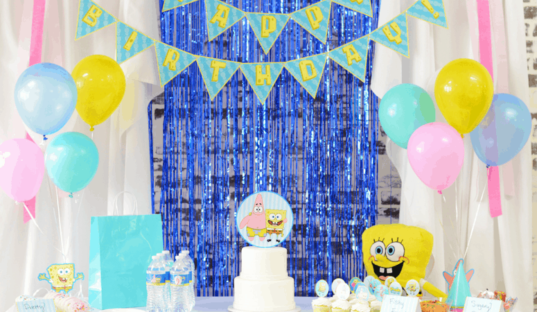 SpongeBob Birthday Party Theme | Lots of Free Printables!