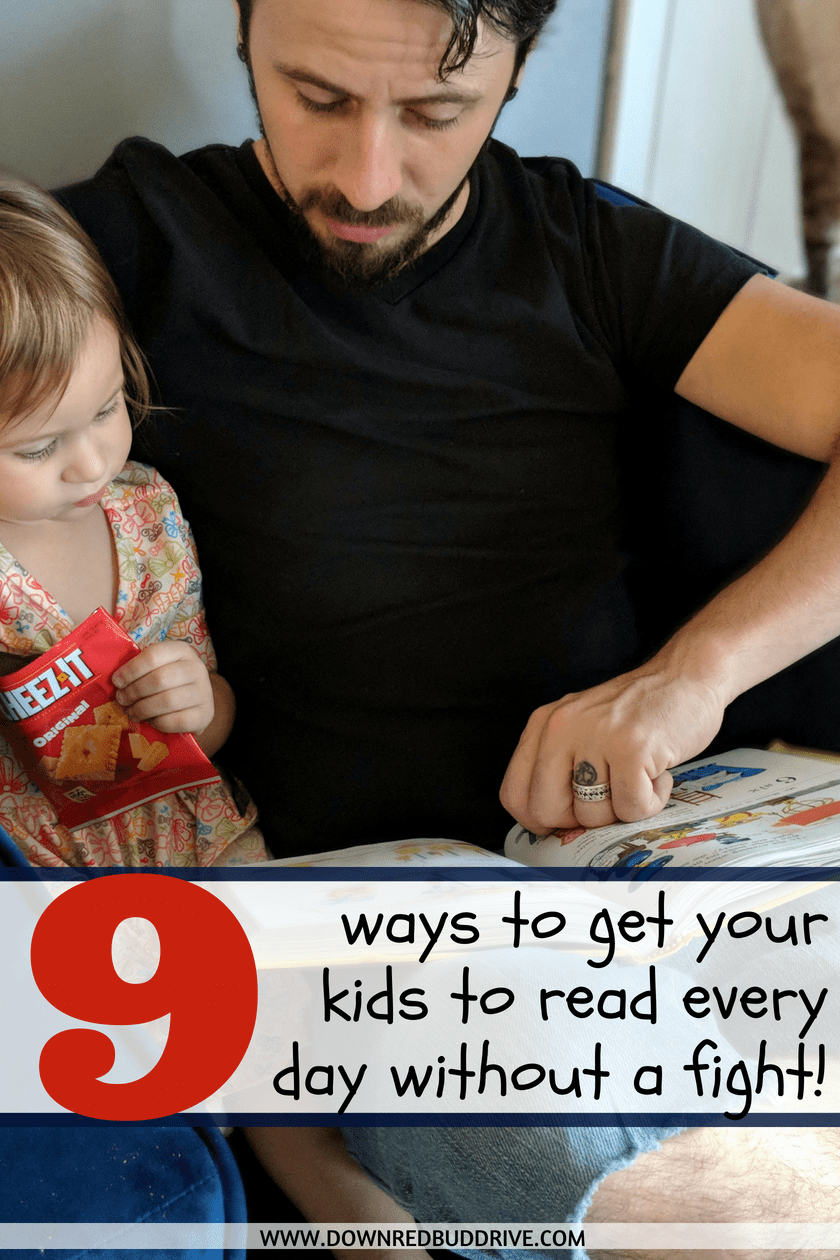 9 Ways to Get Your Kids To Read Every Day | How to Get Kids Reading | How to Get Kids to Read More | How to Get Kids To Read In the Summer | How to Get Kids to Read | How to Get Kids To Read at Home | Kids Reading | Reading Incentives | Down Redbud Drive #ad #BreakfastAndRead #reading #literacy