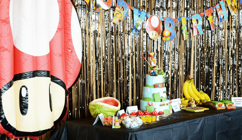 Nintendo Party Theme | Nintendo Birthday Party with Free Printables!