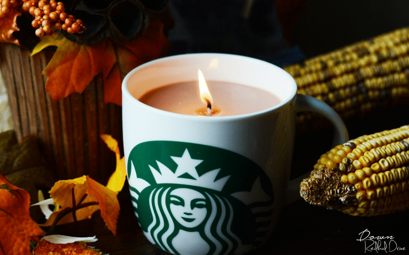 Starbucks Candle