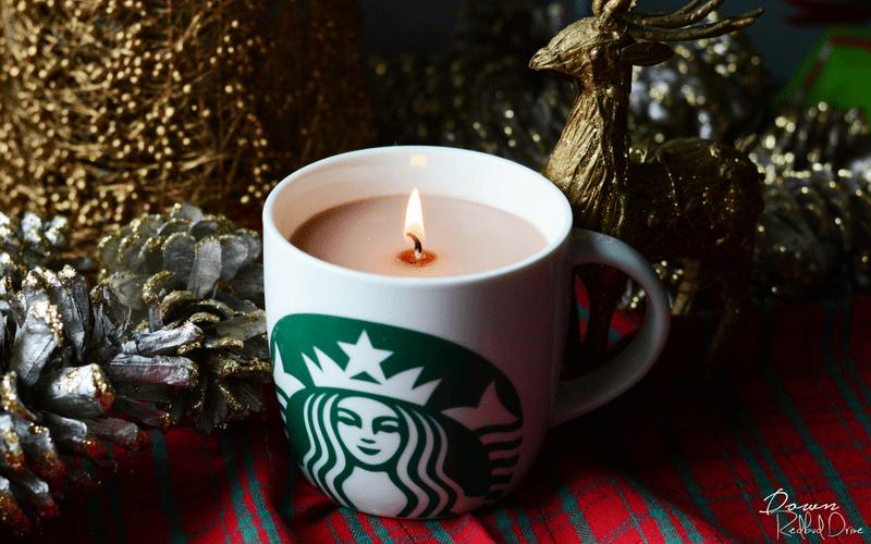 Starbucks Candle
