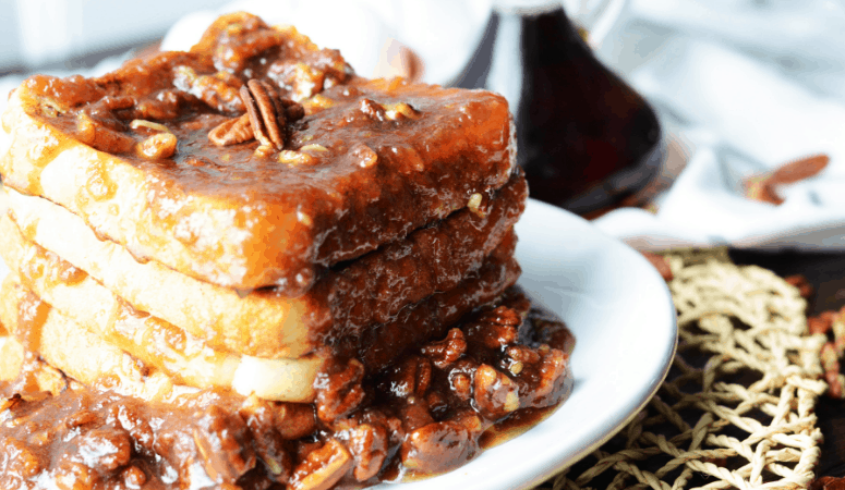 Pecan Pie French Toast