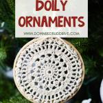 DIY Doily Ornaments