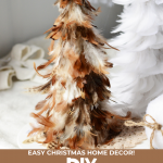 DIY Feather Trees