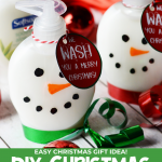 DIY Snowman Soap