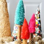 Bottle Brush Trees DIY