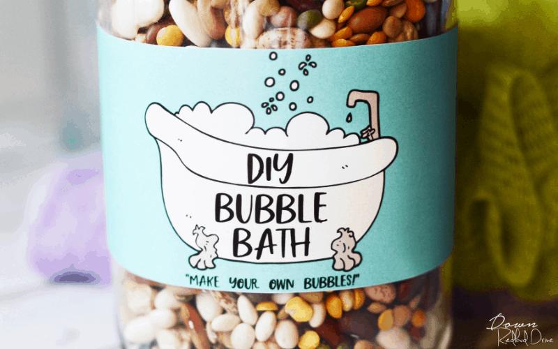 DIY Bubble Bath Gag Gift