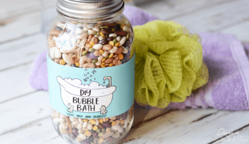 DIY Bubble Bath