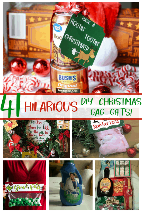 DIY Christmas Gag Gifts - 41 DIY Christmas Gag Gifts DIY White Elephant Gift Ideas