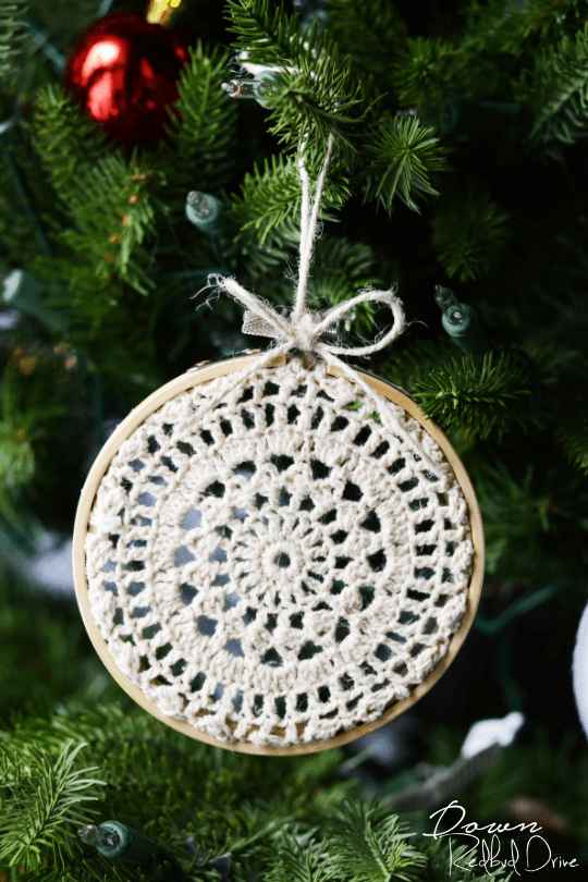 Doily Ornaments