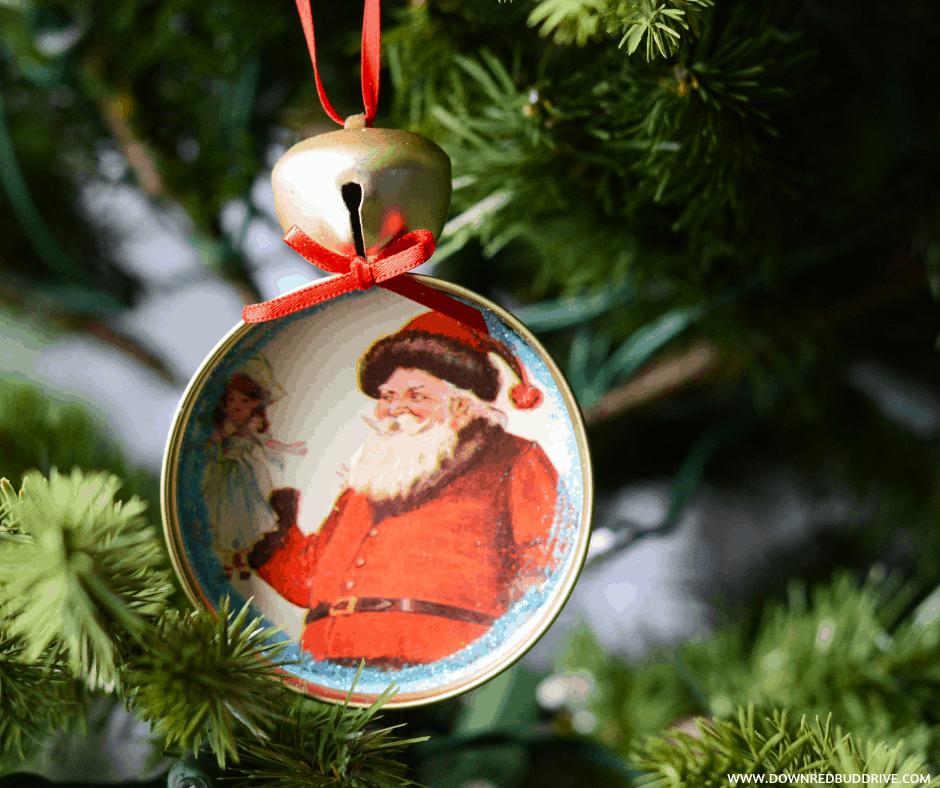 Mason Jar Lid Ornaments Diy Christmas Ornaments