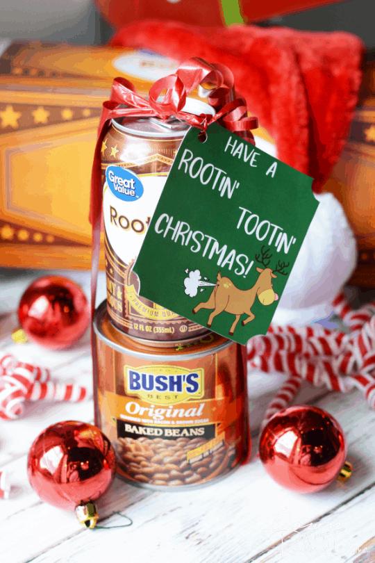 Rootin Tootin Christmas Gift - Rootin Tootin Christmas Gift DIY Christmas Gag Gift Idea