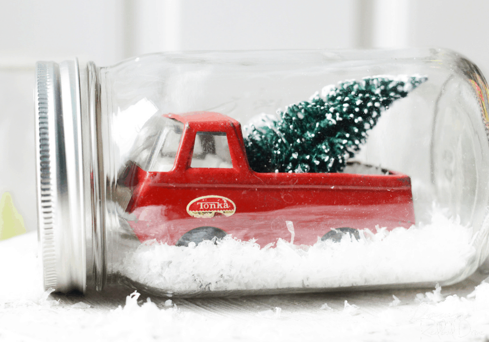 Waterless Snow Globe