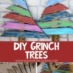 DIY Grinch Trees Decor