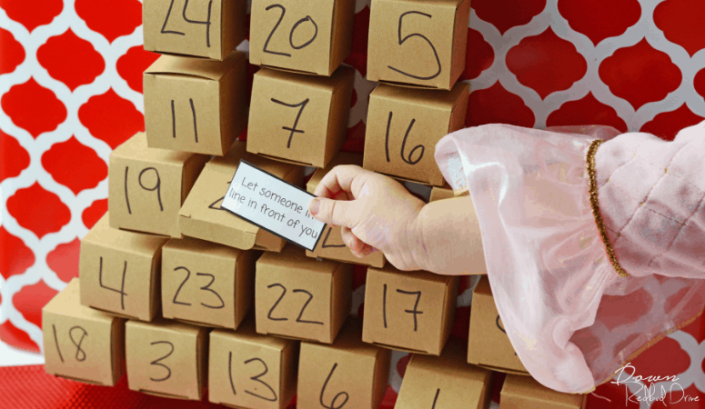 Acts of Kindness Advent Calendar   Putting the Focus on Giving at Christmas