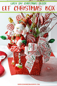 Elf Christmas Box