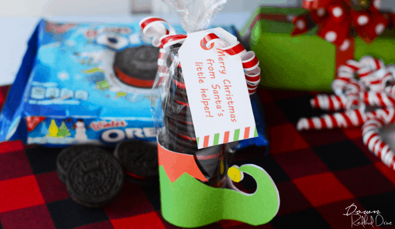 Elf Leg Oreos | DIY Christmas Gift Idea
