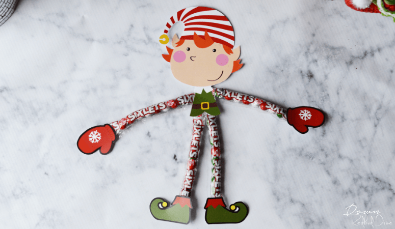 Sixlet Elves | Easy Gift Idea with Free Printables!