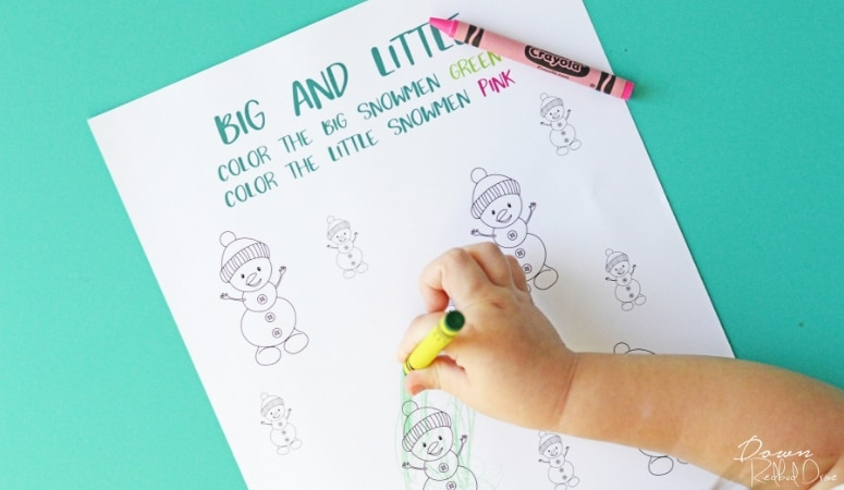 Preschool Winter Activity Book | Free Printable Activity Book