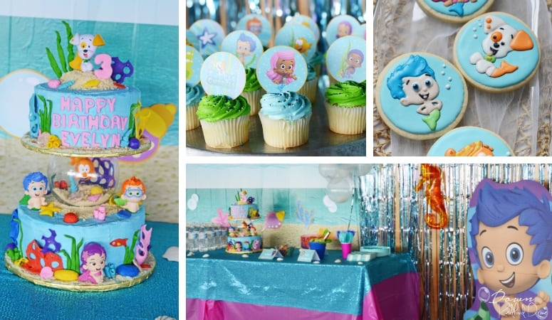 Bubble Guppies Birthday   Lots of Free Printables!
